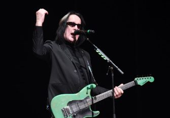 LOS ANGELES, CALIFORNIA - DECEMBER 11: Singer Todd Rundgren performs onstage during the 50th anniversary tribute tour celebrating The White Album at The Wiltern on December 11, 2019 in Los Angeles, California. (Photo by Scott Dudelson/Getty Images)