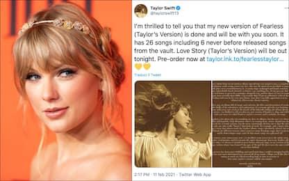 Taylor Swift, in arrivo la nuova versione di Love Story