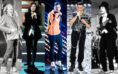 Sanremo, da Vasco a Mahmood, le 30 canzoni più iconiche del festival