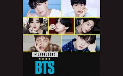 I 'BTS' protagonisti di MTV Unplugged: dove vedere lo show in Italia