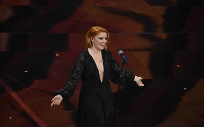 I cantanti di Sanremo 2021: Noemi sul palco con la canzone Glicine