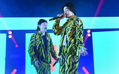 I cantanti di Sanremo 2021: Coma Cose con Fiamme negli Occhi. FOTO