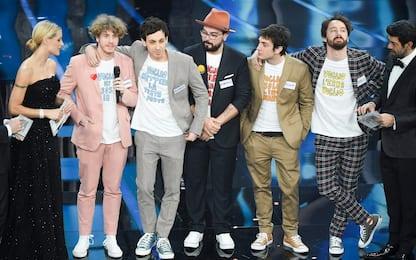 I cantanti di Sanremo 2021: Lo Stato Sociale con Combat Pop. FOTO