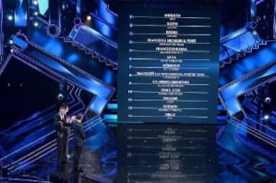 Sanremo 2021, la classifica parziale dei big dopo la prima serata