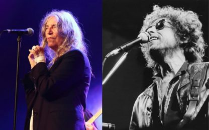 Patti Smith terrà un concerto per gli 80 anni di Bob Dylan