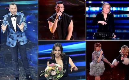 Sanremo 2021, gli ospiti della quarta serata: da Emma a Mahmood. FOTO