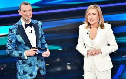 Barbara Palombelli a Sanremo 2021, il monologo dedicato alle donne