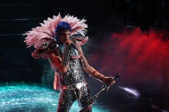 (KIKA) - SANREMO -Sanremo Festival 2021: first night iconic moments