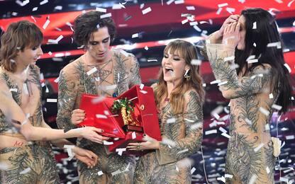 """Sanremo 2021, i Maneskin vincono con """"Zitti e buoni"""""""