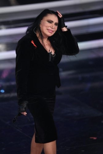 (KIKA) - SANREMO - Sanremo 2012: the show-day two.