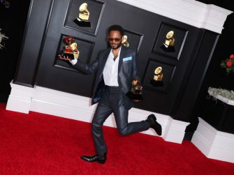 Los Angeles, CA - March 14:  Kaytranada who won the award for Best Dance Performance and Best Dance Album at on the red carpet at the 63rd Annual Grammy Awards, at the Los Angeles Convention Center, in downtown Los Angeles, CA, Sunday, Mar. 14, 2021. (Jay L. Clendenin / Los Angeles Times via Getty Images)