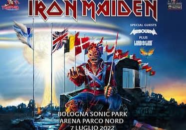 Iron Maiden, concerto al Sonic Park di Bologna rinviato a luglio 2022