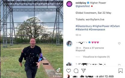 I Coldplay lanciano il nuovo singolo Higher Power su TikTok