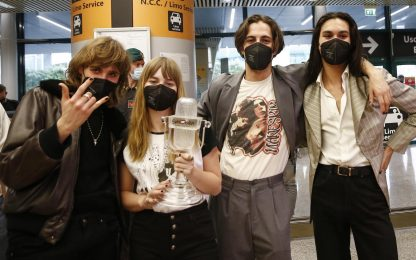 Eurovision: le reazioni delle altre nazioni alla vittoria dei Måneskin