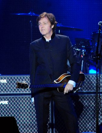 (KIKA) - BOLOGNA - Paul McCartney started his On The Run tour 2011 in Unipol Arena in Bologna, Italy.
