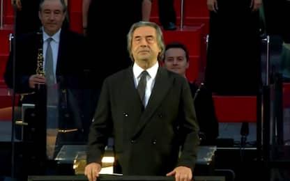 L'Arena di Verona riapre con l'Aida diretta da Riccardo Muti. VIDEO