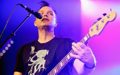 Blink-182, il cantante Mark Hoppus ha annunciato di avere il cancro