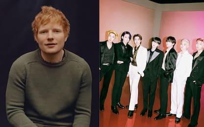 "Ed Sheeran: ""Ho appena scritto una canzone per i BTS"""