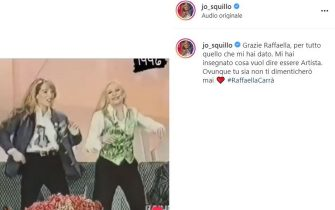 Jo Squillo cordoglio social per Raffaella Carrà