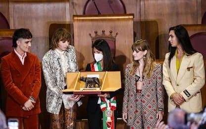 Maneskin, live al Circo Massimo nel 2022 e consegna Lupa Capitolina