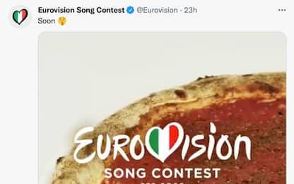 Eurovision 2022 in Italia, il tweet con la pizza scatena le polemiche