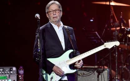 """Alla fine Eric Clapton ha suonato """"per un pubblico scelto"""""""