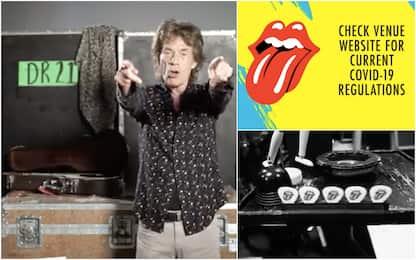 """Rolling Stones, al via il tour negli Usa. L'appello: """"Vaccinatevi"""""""