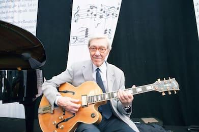 Addio a Franco Cerri, il chitarrista jazz aveva 95 anni