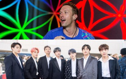 "Coldplay e BTS, esce il remix ""My Universe (SUGA's Remix)"""