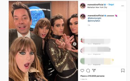 Måneskin, la band Italiana ospite al Tonight Show di Jimmy Fallon