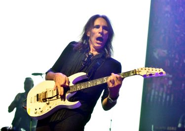 LOS ANGELES, CALIFORNIA - SEPTEMBER 16: Guitarist Steve Vai performs onstage during the second annual Above Ground concert benefting MusiCares at The Fonda Theatre on September 16, 2019 in Los Angeles, California. (Photo by Scott Dudelson/Getty Images)