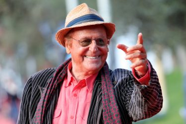 ROME, ITALY - OCTOBER 22:  Renzo Arbore walks the red carpet during the 11th Rome Film Festival at Auditorium Parco Della Musica on October 22, 2016 in Rome, Italy.  (Photo by Vittorio Zunino Celotto/Getty Images)