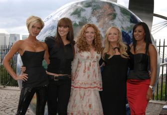Spice Girls Reunion Tour Announcement, Royal Observatory And Vue Cinema At The O2 Arena, Greenwich, London, Britain - 28 Jun 2007, Spice Girls - Victoria Beckham, Melanie Chisholm, Geri Halliwell, Emma Bunton And Melanie Brown (Photo by Brian Rasic/Getty Images)