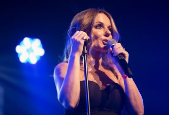 LONDON, ENGLAND - JUNE 24:  Geri Horner nee Halliwell performs on stage at G-A-Y Club at Heaven on June 24, 2017 in London, England.  (Photo by Jo Hale/Getty Images)