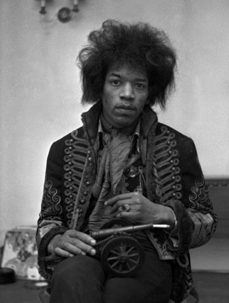 American Rock Singer and Guitarist Jimi Hendrix (1942-1970). (Photoshot/Getty Images)