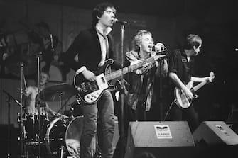 Sex Pistols perform in Paradiso, Amsterdam.;