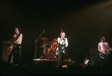 SEX PISTOLS UK punk group about 1977