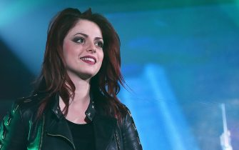 MILAN, ITALY - MARCH 23:  Singer Annalisa Scarrone performs live at RadioItaliaLive on March 23, 2015 in Milan, Italy.  (Photo by Stefania D'Alessandro/Getty Images)