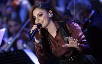 ROME, ITALY - DECEMBER 12:  Annalisa performs during the 23rd Christmas Concert at Auditorium Conciliazione on December 12, 2015 in Rome, Italy.  (Photo by Elisabetta A. Villa/Getty Images)