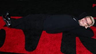 HOLLYWOOD, LOS ANGELES, CALIFORNIA, USA - OCTOBER 24: Singer Billy Idol arrives at the Los Angeles Premiere Of Netflix's 'The Irishman' held at TCL Chinese Theatre IMAX on October 24, 2019 in Hollywood, Los Angeles, California, United States. (Photo by Xavier Collin/Image Press Agency/Sipa USA) (Hollywood - 2019-10-24, Xavier Collin/Image Press Agency / IPA) p.s. la foto e' utilizzabile nel rispetto del contesto in cui e' stata scattata, e senza intento diffamatorio del decoro delle persone rappresentate