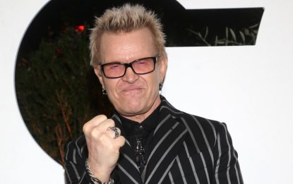 I 65 anni di Billy Idol