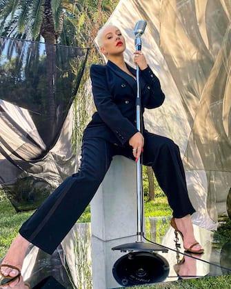 Christina Aguilera has posted a photo on Instagram with the following remarks:Good Morning America (nn - 2020-09-01, ddp socialmediaservice / IPA) p.s. la foto e' utilizzabile nel rispetto del contesto in cui e' stata scattata, e senza intento diffamatorio del decoro delle persone rappresentate
