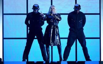 LAS VEGAS, NV - MAY 20: Christina Aguilera performs at the 2018 Billboard Music Awards at MGM Grand Garden Arena on May 20, 2018 in Las Vegas, Nevada. (Photo by Frank Micelotta/PictureGroup/Sipa USA) (Las Vegas - 2018-05-20, Frank Micelotta / IPA) p.s. la foto e' utilizzabile nel rispetto del contesto in cui e' stata scattata, e senza intento diffamatorio del decoro delle persone rappresentate