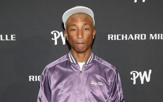 MIAMI, FLORIDA - NOVEMBER 13: Pharell WIlliams attends the Richard Mille Celebration for the launch of the RM 52-05 Tourbillon Pharrell Williams at Swan Miami on November 13, 2019 in Miami, Florida. (Photo by Alexander Tamargo/Getty Images for Richard Mille)