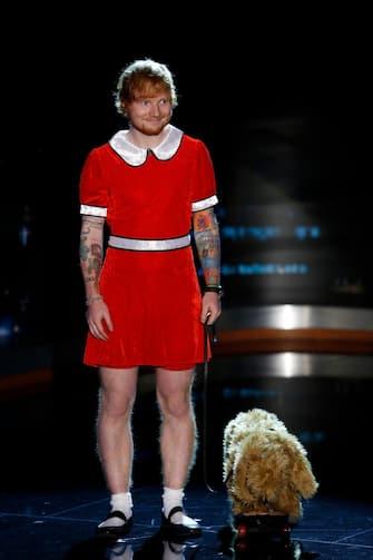 Ed Sheeran look