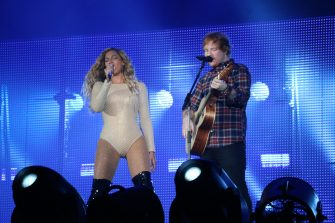 Beyonce performs a duet with Ed Sheeran live in concert during the 2015 Global Citizen Festival in Central Park  Featuring: Beyonce, Beyonce Knowles, Ed Sheeran Where: New York City, New York, United States When: 26 Sep 2015 Credit: WENN.com  **Only available for publication in UK, Germany, Austria, Switzerland, Italy, Australia. No Internet Use. Not available for Subscribers**