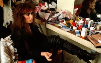 Italian pop singer Loredana Bertè, Italy, circa 1985. (Photo by Luciano Viti/Getty Images)