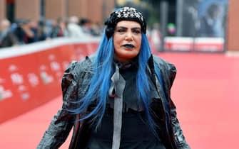 Italian singer Loredana Berte' arrives for the screening of ''La famiglia Addams'' at the 14th annual Rome Film Festival, in Rome, Italy, 20 October 2019. The film festival runs from 17 to 27 October. ANSA/ETTORE FERRARI