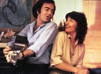 THE JAZZ SINGER  Neil Diamond and Lucie Arnaz in the 1980 EMI film