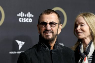 LONDON, ENGLAND - DECEMBER 13: Ringo Starr attends the 2019 Global Citizen Prize at the Royal Albert Hall on December 13, 2019 in London, England. (Photo by Tristan Fewings/Getty Images for Global Citizen)